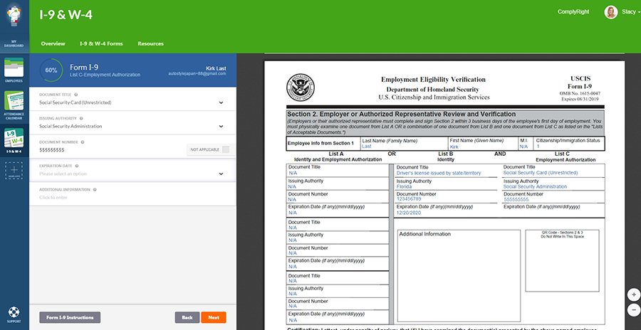 New I9 And W4 Software App Simplifies New Hire Onboarding Paperwork