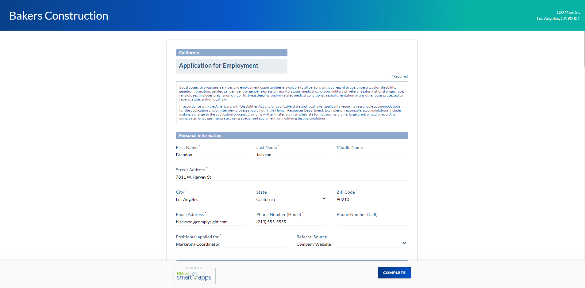 Job Application Online >> 5 Easy Steps For Creating And Managing Compliant Job Applications Online