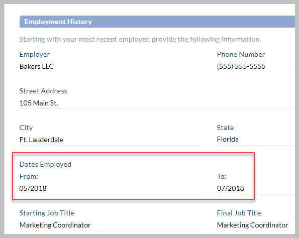How To Identify Discrepancies In A Candidate S Job Application