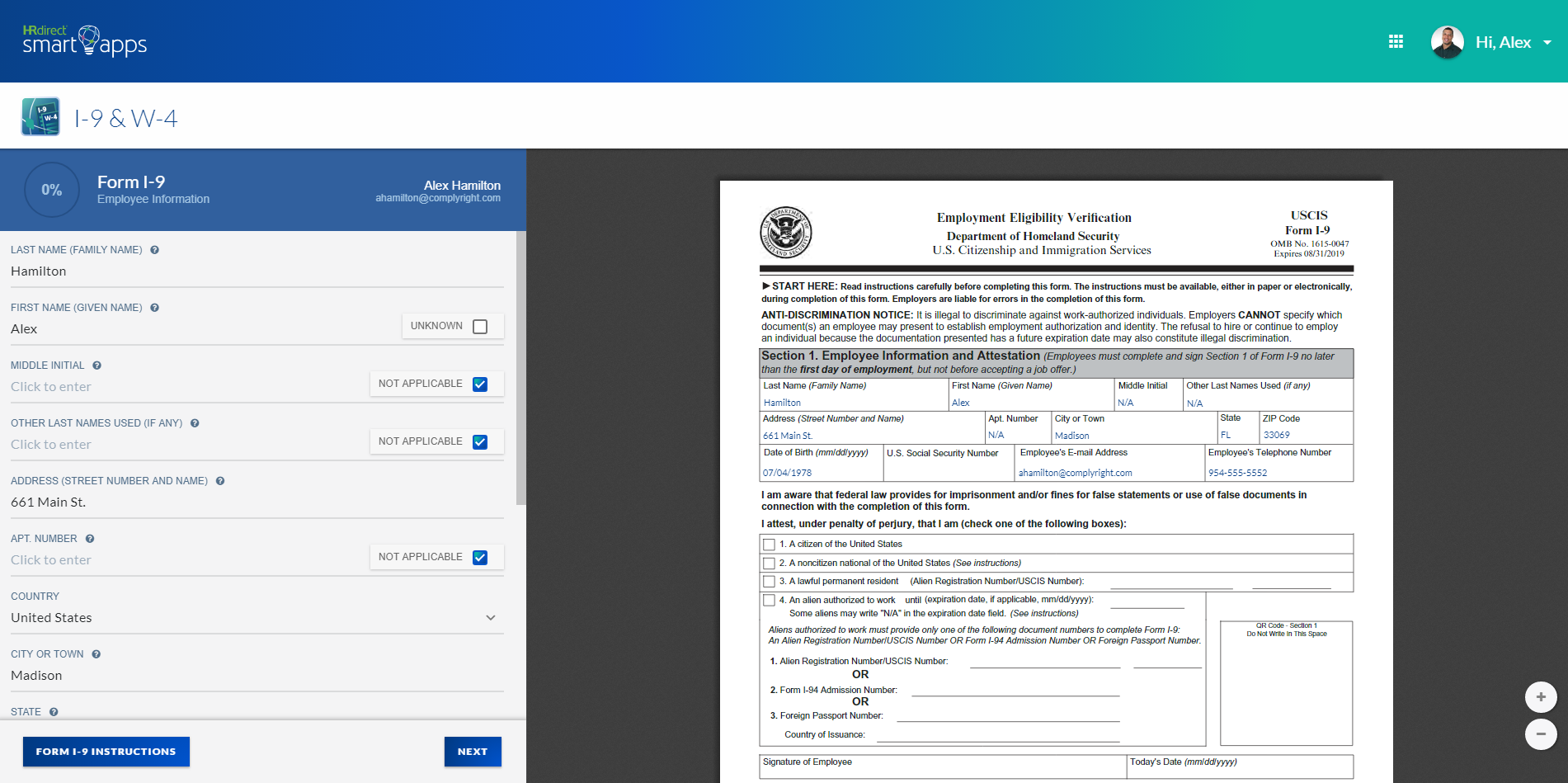 Onboard New Hires with I-9 Forms Software Guided by HR Experts